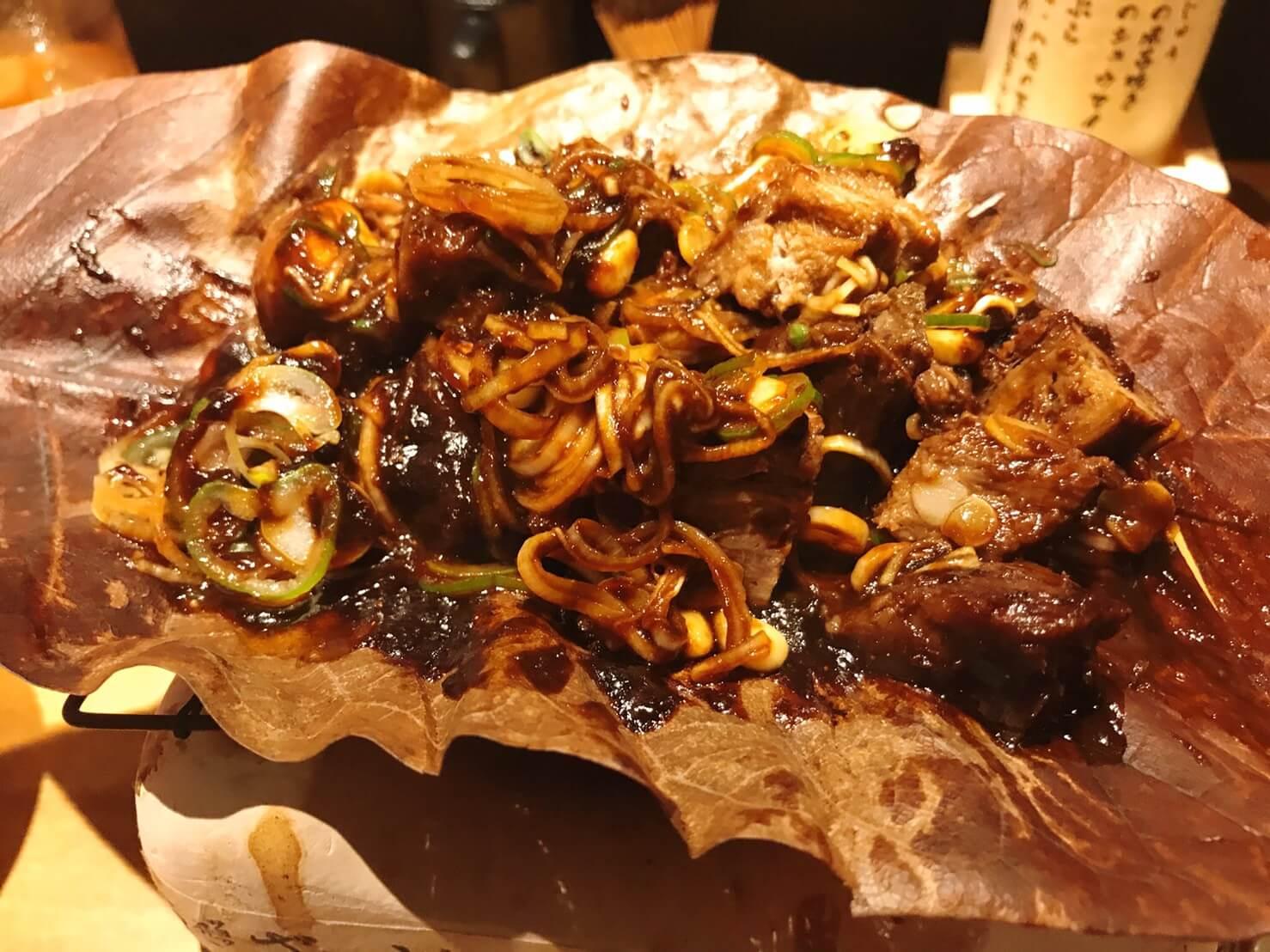 宮崎幸雄の牛タンほうば味噌焼きを混ぜたもの