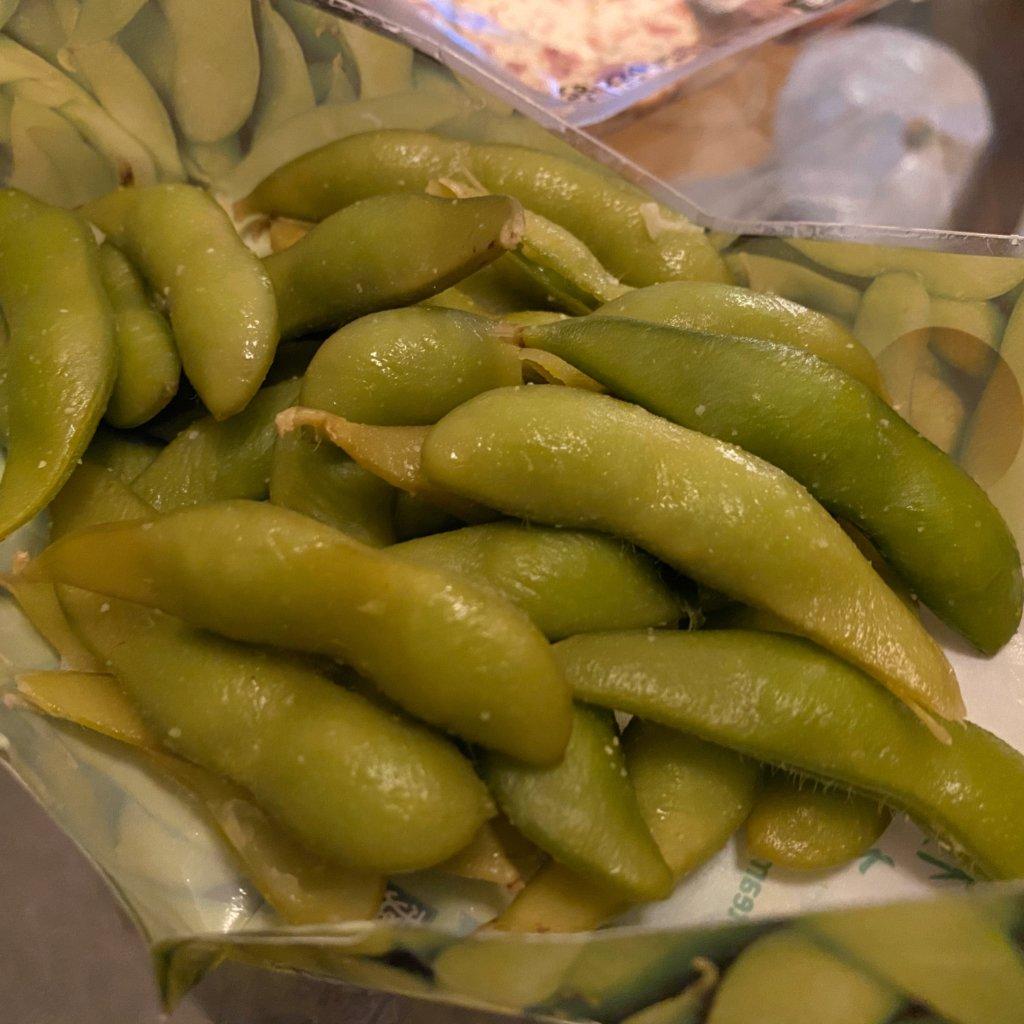 セブンイレブンのわさび枝豆