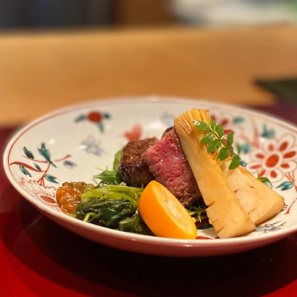 もちづきの宮崎牛のステーキ