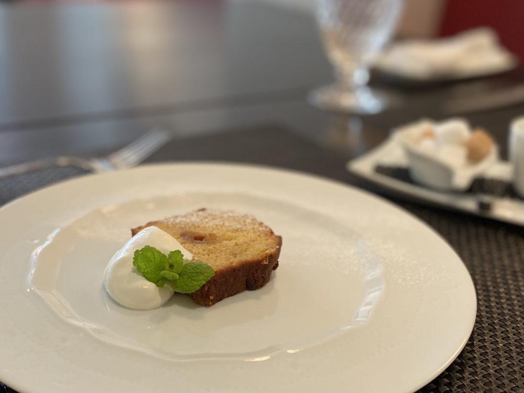 ルデトゥールバナナのケーキ
