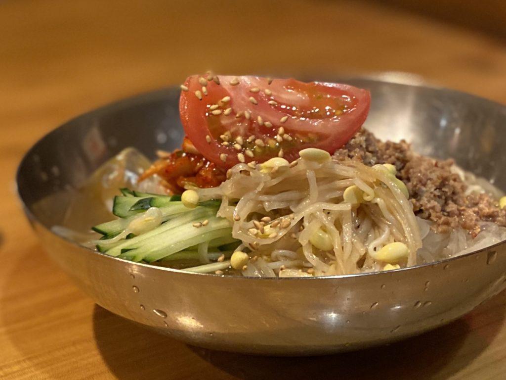焼肉小次郎冷麺