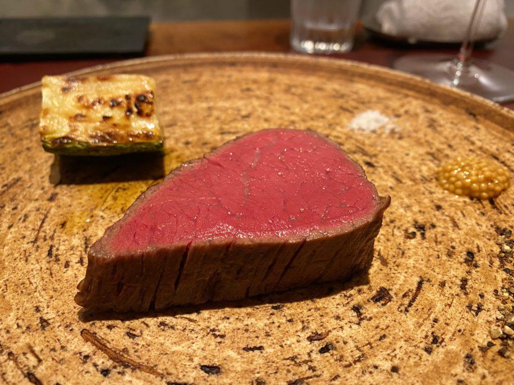 イルアオヤマ 三河牛のフィレ肉