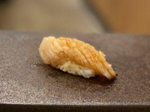 名古屋の寿司あま木のミル貝