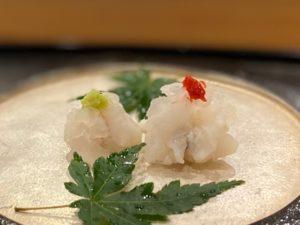 名古屋の寿司屋あま木の鱧