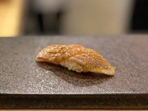 名古屋の寿司屋あま木のカスゴ握り