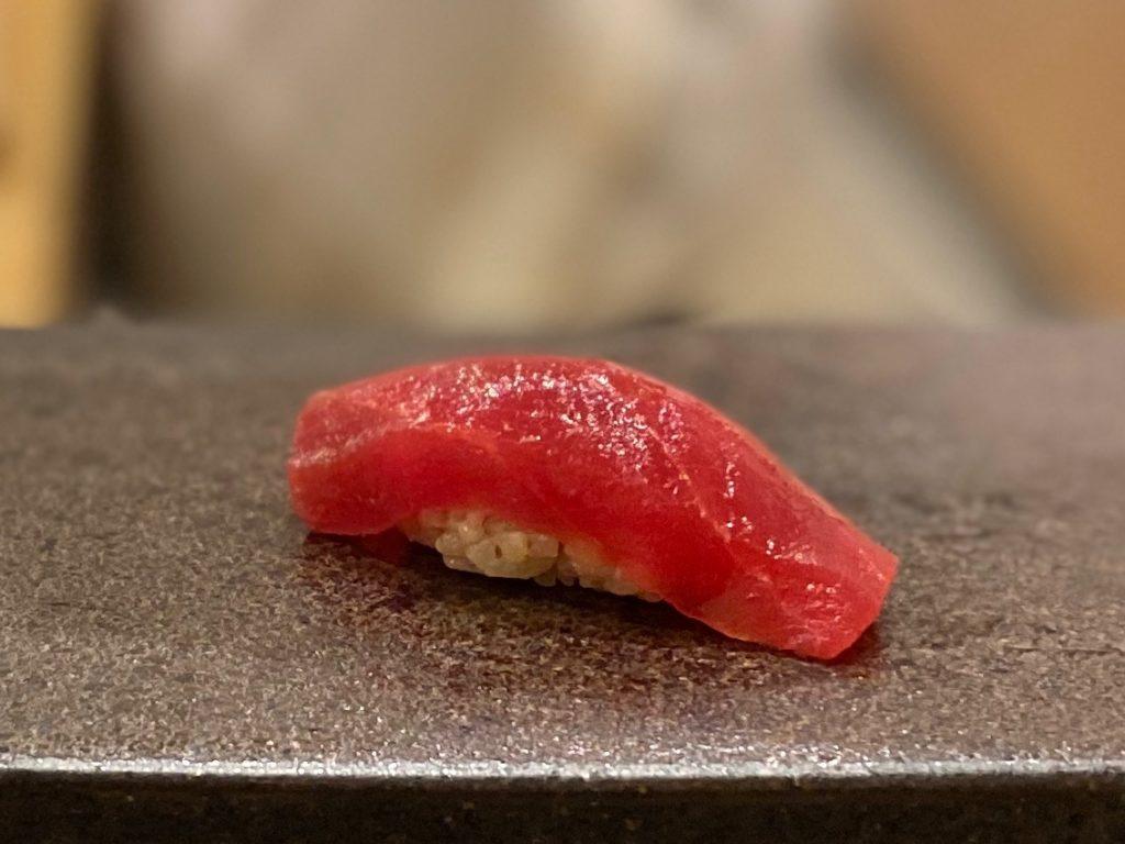 名古屋の寿司屋あま木の赤身握り
