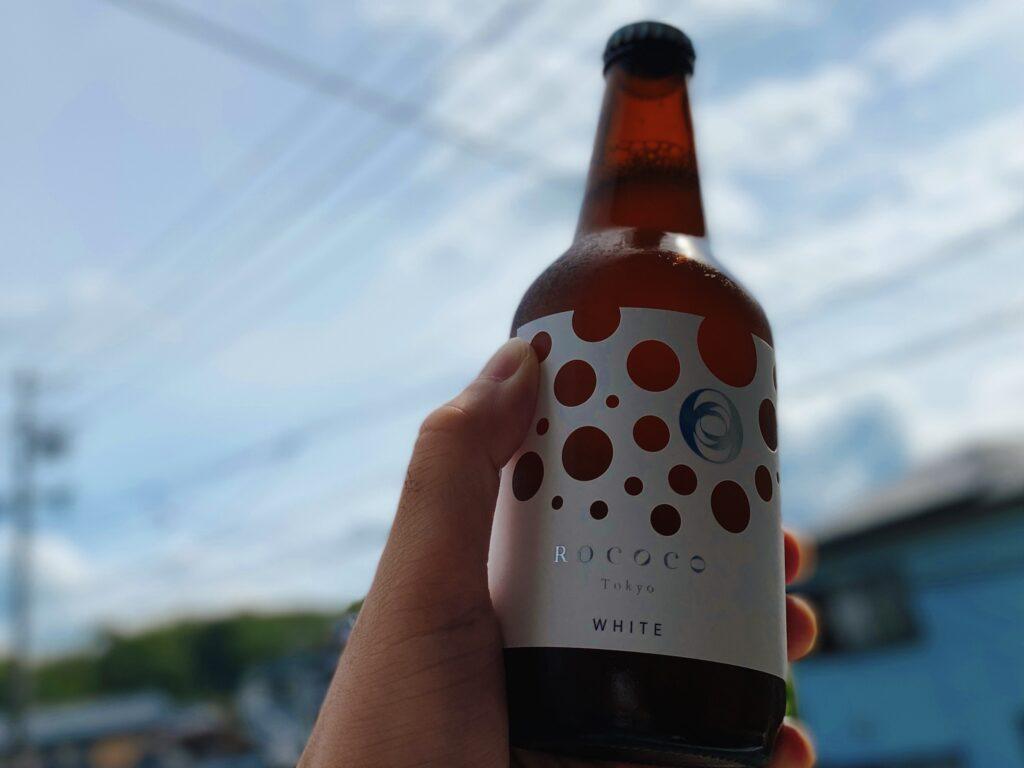 ROCOCO Tokyo WHITEのボトルデザイン