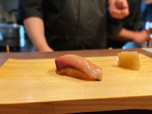 春ぶり燻製 握り寿司