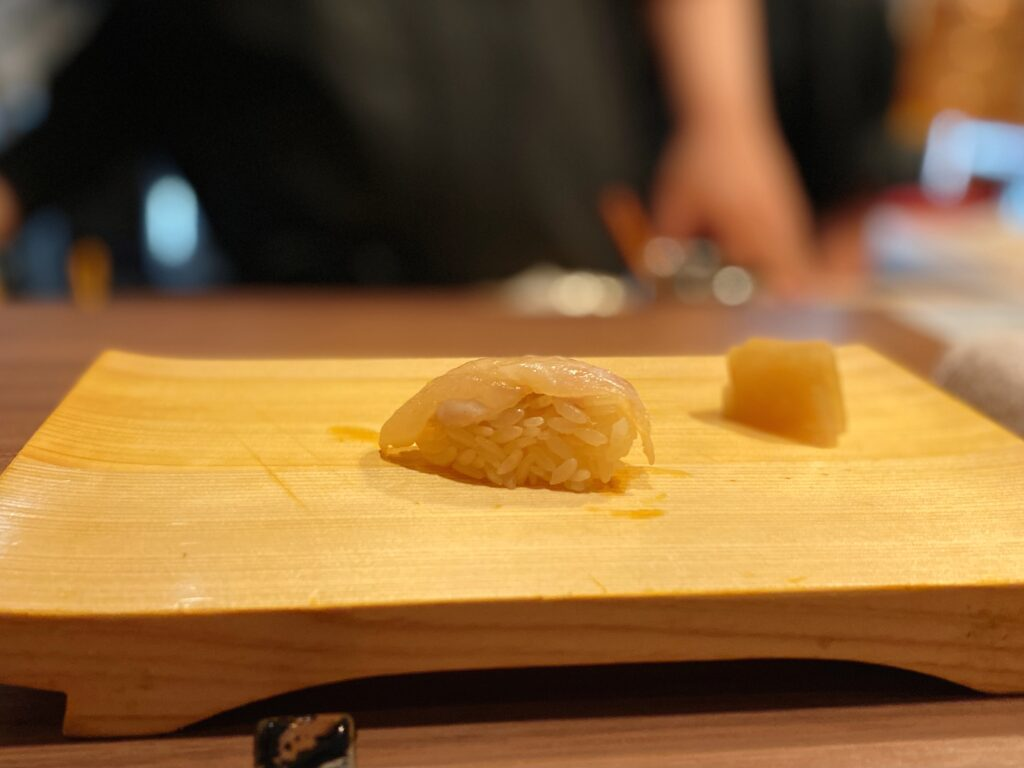カワハギ 握り寿司