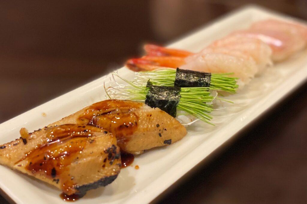 すし旬の季節の握り寿司
